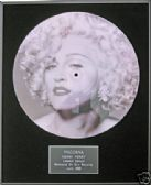 "MADONNA  - Framed 12"" Picture Disc - HANKY PANKY"